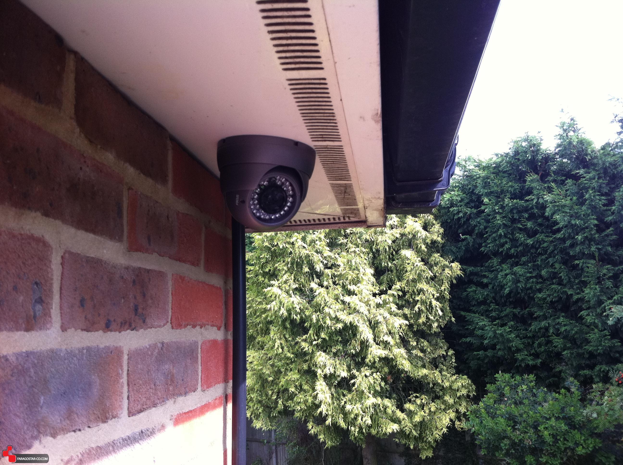 فراگستر الکترونیک | 6مکان مناسب برای نصب دوربین مداربسته خانگی