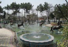 Image result for میدان اسبی عظیمیه کرج