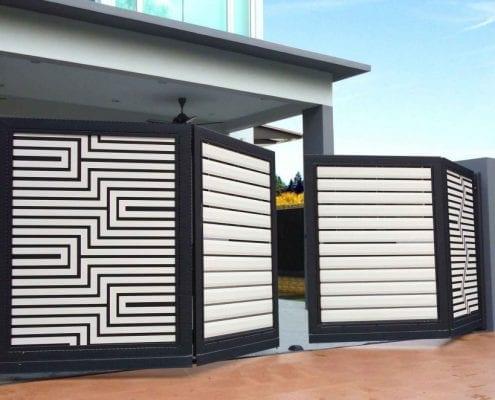 Image result for نصب دوربین مداربسته مخفی در درب حیاط یا تراس