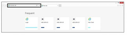 تغییر رزولوشن دستگاه از طریق وب