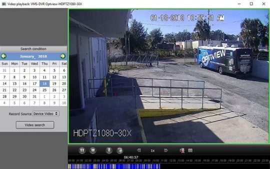 4 1 540x339 انتقال تصویر دوربین های مداربسته داهوا و هایک ویژن با نرم افزار