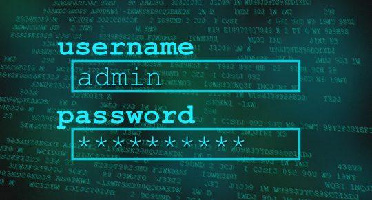 رمز عبور امن برای دوربین مدار بسته