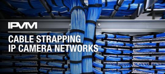 نحوه بستن و آرایش کابل های شبکه در پروژه های نظارت تصویری