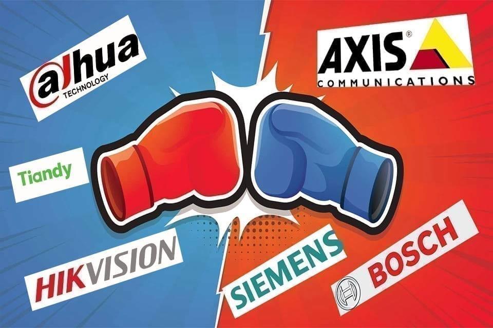 جنگ برندها در صنعت نظارت تصویری