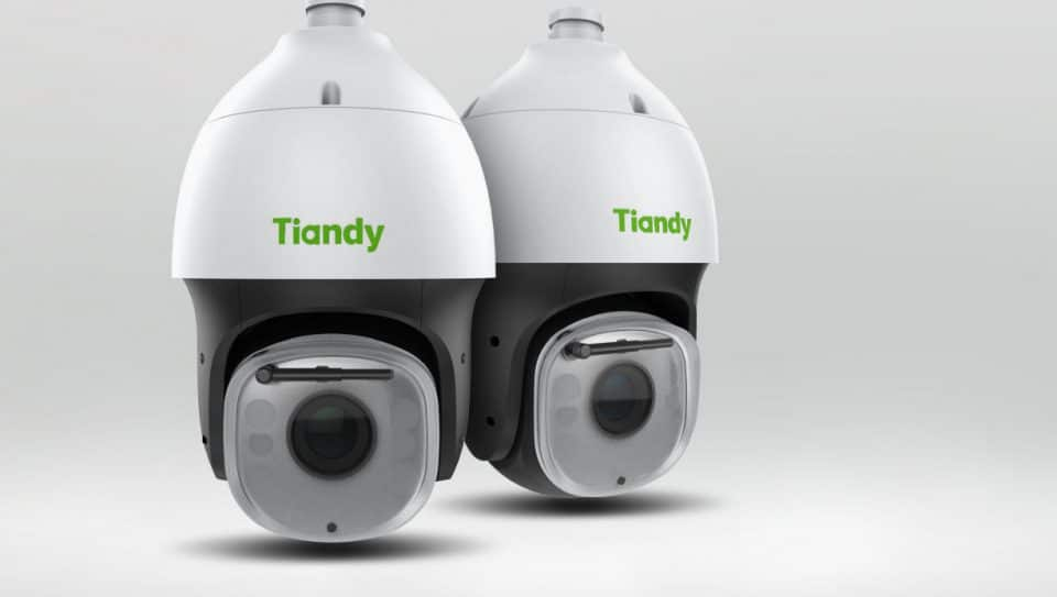 نمائی از دوربین تیاندی یکی از برندهای محبوب دوربین مداربسته